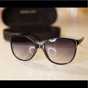Michael Kors Sunglasses w/ Silver Metal Trim USED